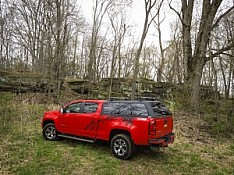 Z  Truck Cap  - OTR Option - Chevy/GMC Colorado | Year Range: 2015 - Current